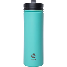 MIZU M9 Borraccia con tappo e cannuccia 900ml, enduro spearmint